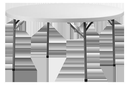 table-blanche-ronde-résine-SODIS-vent